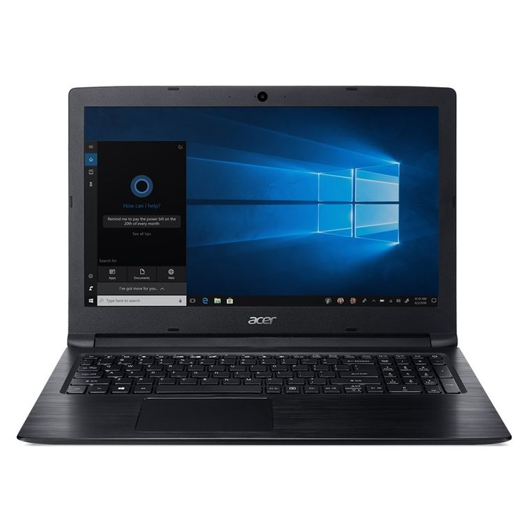 "Notebook Acer Aspire 3 A315-53-55DD Intel® Core™ i5-7200U Memória RAM de 4GB HD de 1TB Tela de 15.6"" HD Windows 10"