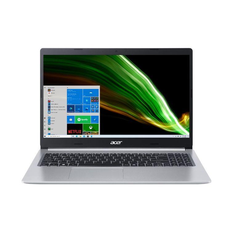 "Notebook - Acer A515-54g-53xp I5-10210u 1.10ghz 8gb 256gb Ssd Geforce Mx250 Windows 10 Home Aspire 5 15,6"" Polegadas"