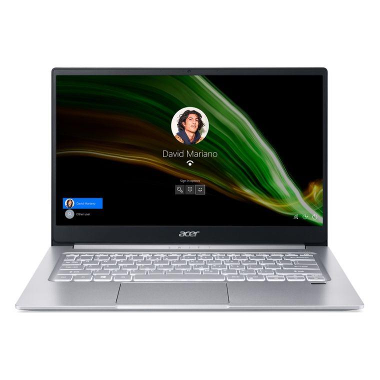 "Notebook - Acer Sf314-59-56fs I5-1135g7 4.0ghz 8gb 512gb Ssd Intel Iris Xe Graphics Windows 10 Home Swift 14"" Polegadas"