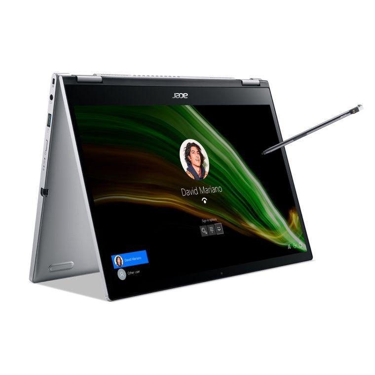 "Notebook - Acer Sp313-51n-772s I7-1165g7 8gb 512gb Ssd Intel Iris Xe Graphics Windows 10 Home Spin 3 13,5"" Polegadas"
