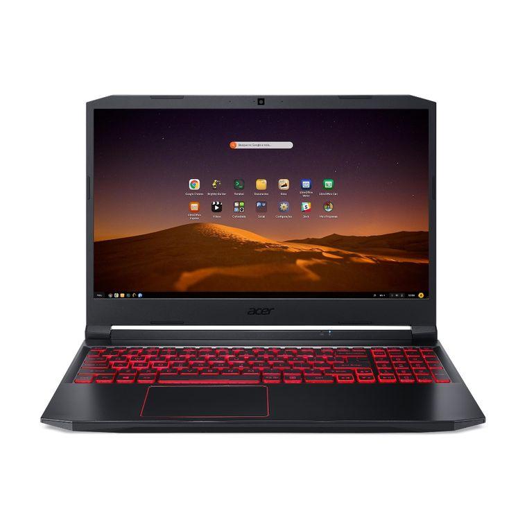 "Notebookgamer - Acer An515-44-r5yz Amd Ryzen 5 4600h 3.00ghz 16gb 512gb Ssd Geforce Gtx 1650 Endless os Aspire 5 15,6"" Polegadas"